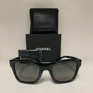 Chanel Foldable Square Polorized Sunglasses